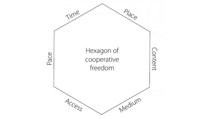 Paulsen's model of cooperative freedoms